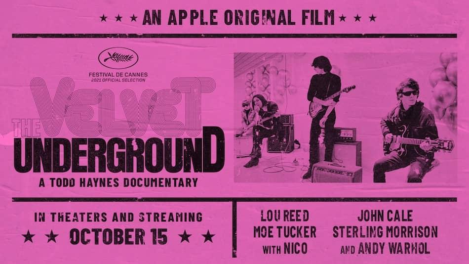 Apple Tv film 2021 Velvet Underground