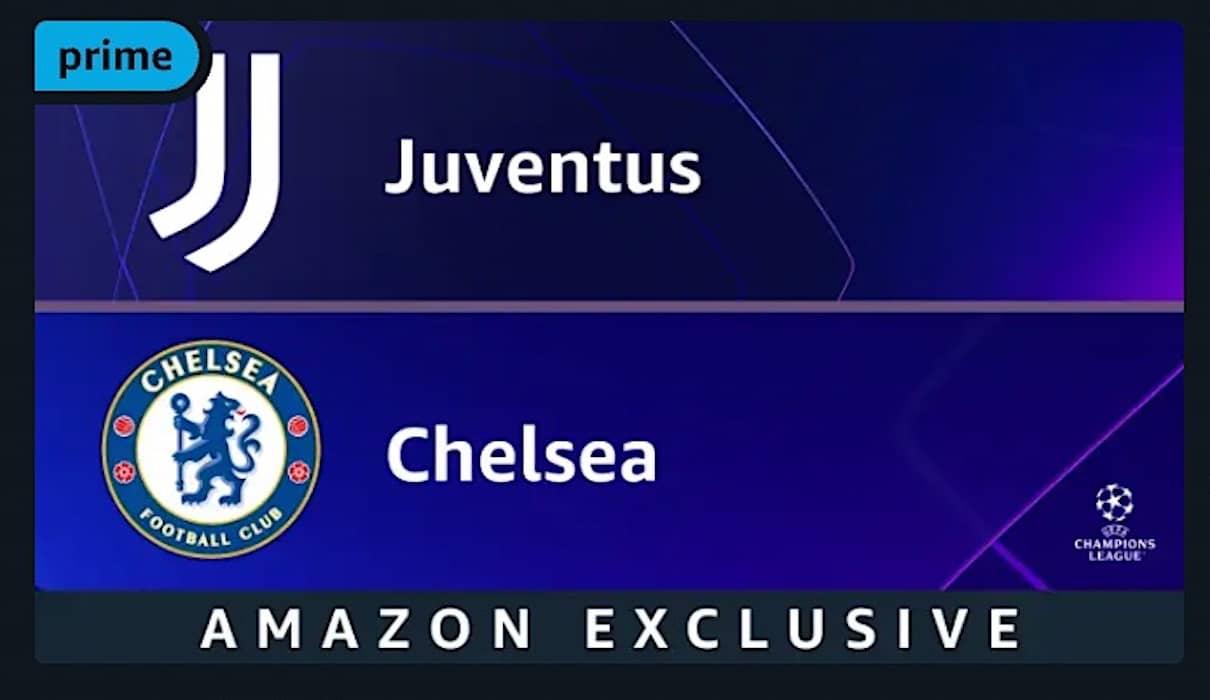 Juventus - Chelsea prime video
