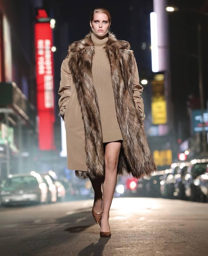cappotto inverno 2022 imbottito in pelliccia eco